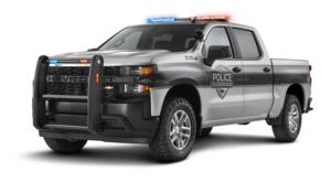 2020 Silverado Police Vehicle with no background