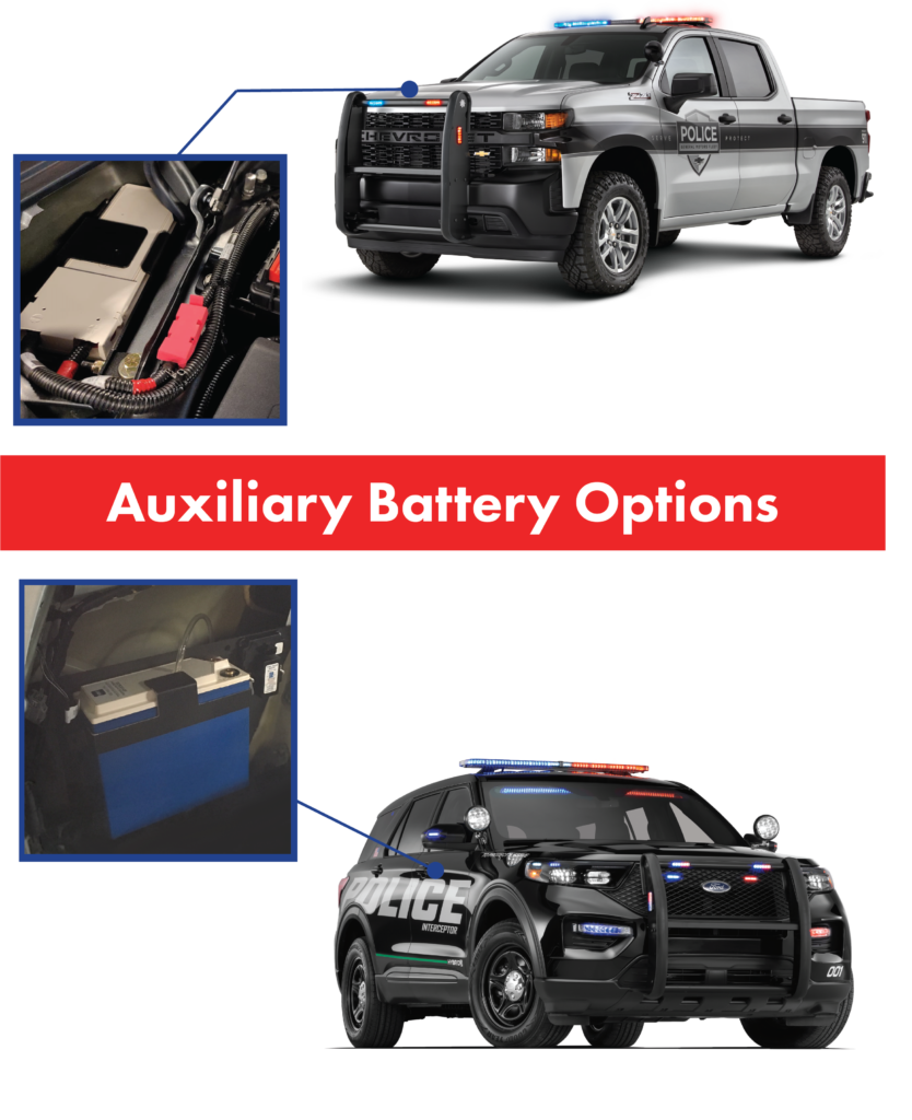 Auxiliary battery options