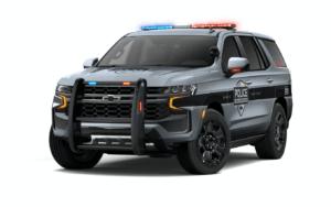 T1 Tahoe Police Vehicle
